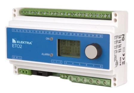 Controller incalzire electrica ETO2