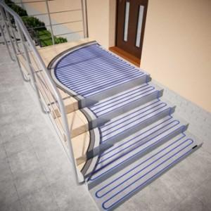 instalare degivrare pe trepte