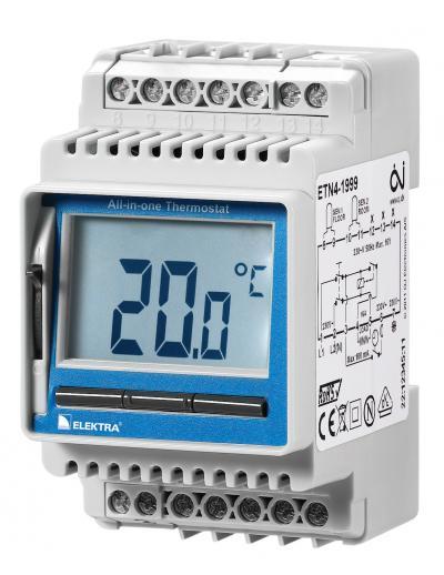 termostat degivrare ETN4