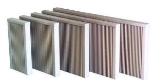 Radiatoare cu placi ceramice pentru inertie termica WENO