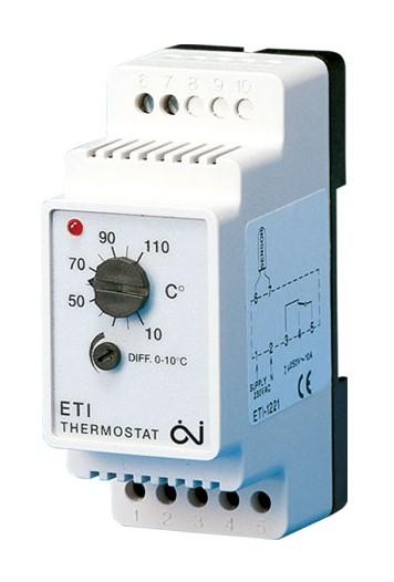 Termostat incalzire electrica ETI